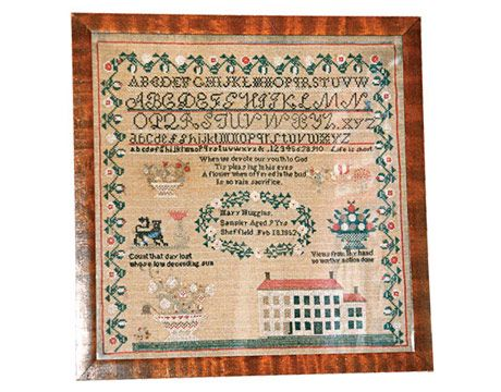 Fancy alphabet sampler: Samplers Amd, Cross Stitch Samplers, Antique Cross Stitch, Counted Cross Stitches, Needlework, Image Countryliving Com, Antique Samplers, Primitive Samplers