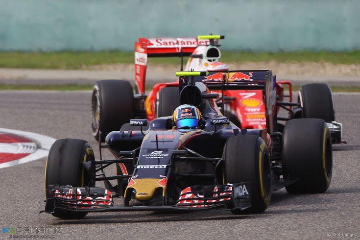 Carlos Sainz Jnr, Toro Rosso, Shanghai International Circuit, 2016