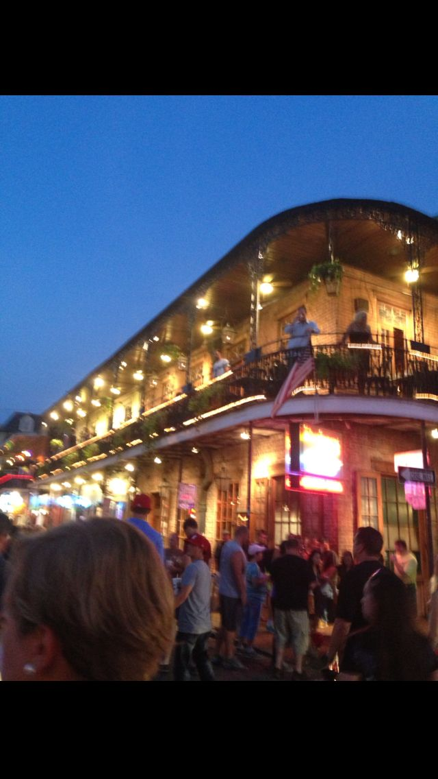 New Orleans French quarter - My niece ran in the AAU junior olympics here - Go NOLA!