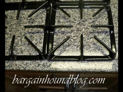 How to easily clean your burner covers with NO scrubbing! - YouTube