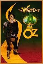 Wizard of Oz Scarecrow Movie Poster
