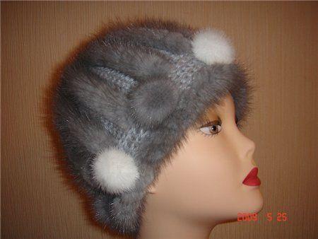 Пошаговые фото вязания шапки с мехом. Обсуждение на LiveInternet - Российский Сервис Онлайн-Дневников
