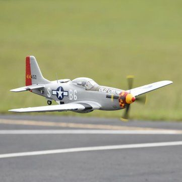 """Eleven Hobby P-51D P51D Mustang Old Crow 1100mm 43"""" Wingspan PNP Sale - Banggood.com sold out"""