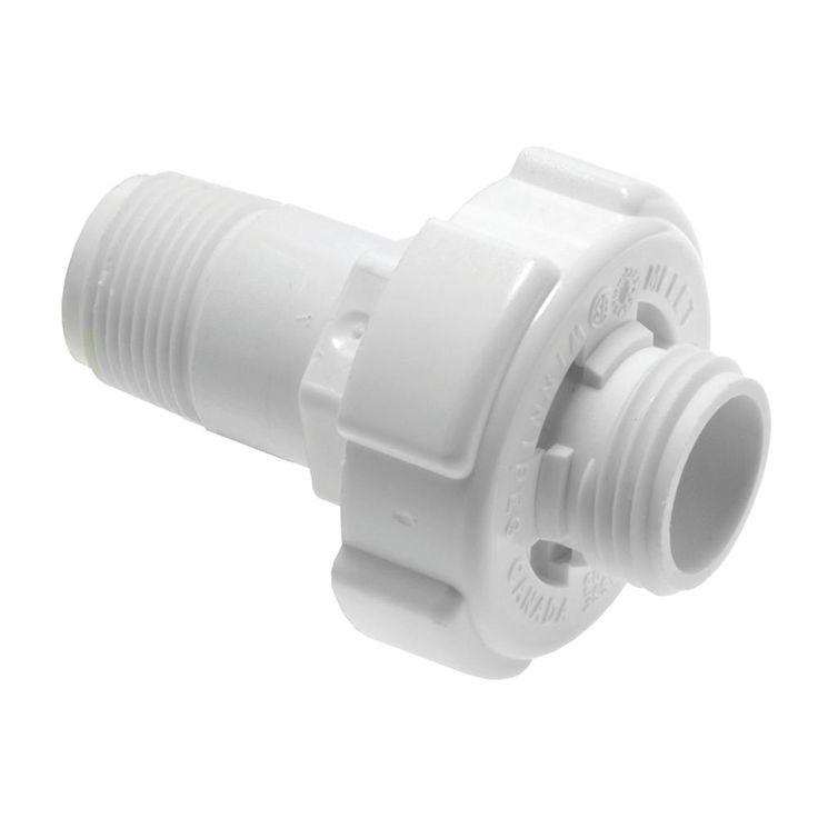 Rheem Protech Plastic Drain Valve For Tank Type Water Heaters