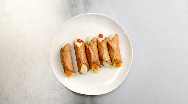 Сицилийские канноли, пошаговый рецепт с фотографиями – средиземноморская кухня: выпечка и десерты. «Афиша-Еда»