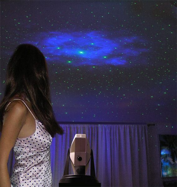 laserstars holographic projector starlight indoors i