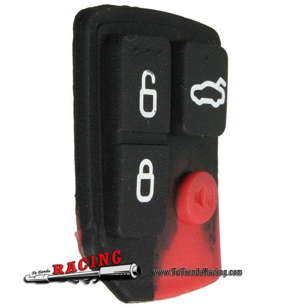 Recambio de 4 Botones de Goma para Mando a Distancia Coche Ford Color Negro - 3,15€ - TUTIENDARACING - ENVÍO GRATUITO EN TODAS TUS COMPRAS