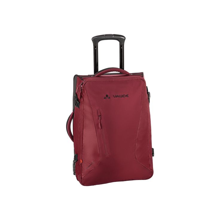 Vaude Tecotravel 40-Liter Wheeled Upright, Red