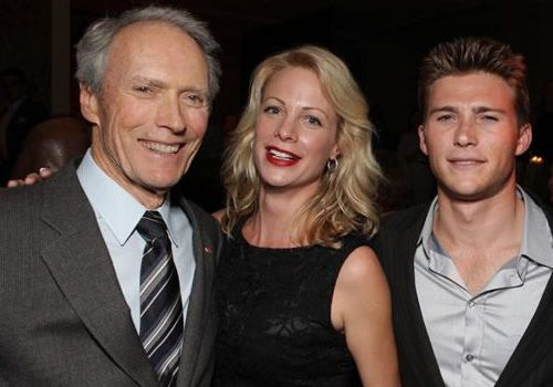 Family photo of the actor, model,  famous for Flags of Our Fathers, Gran Torino, Invictus, The Forger.