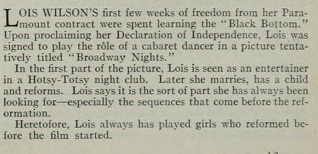 Photoplay April 1927 - Lois Wilson