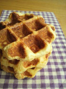 「●ベルギーワッフル」Botan | お菓子・パンのレシピや作り方【corecle*コレクル】