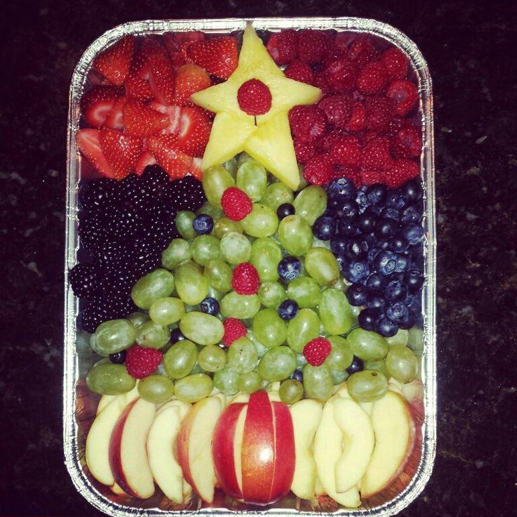 healthy fruit dips fruit salad tree