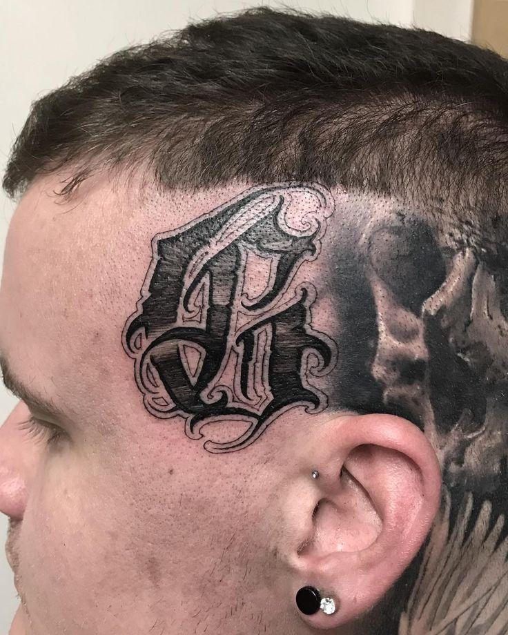 G on gibson_tattoofreak 💥 Tattoo fonts, Chicano