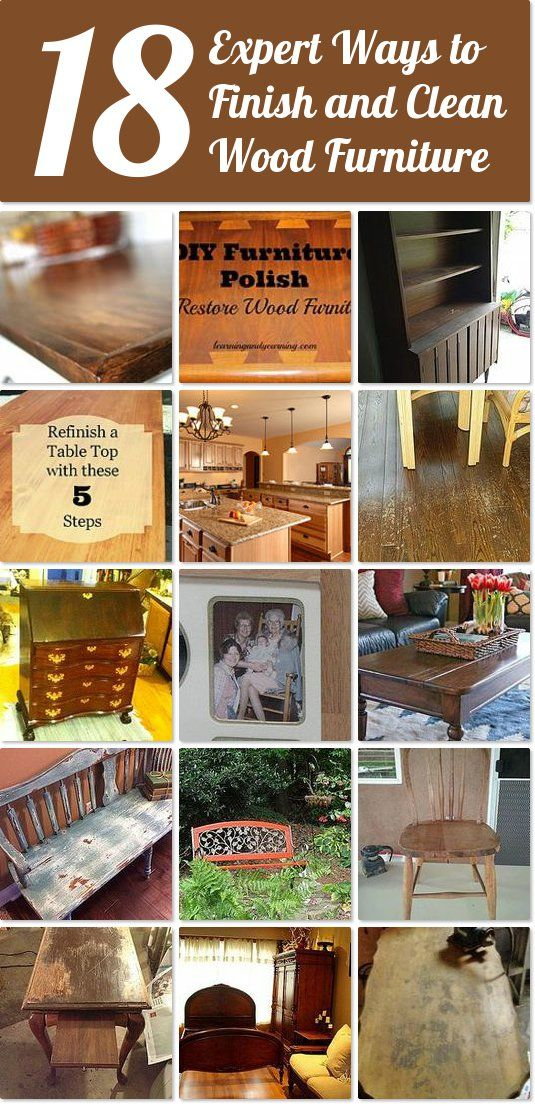 18 expert ways to finish and clean wood furniture | Hometalk