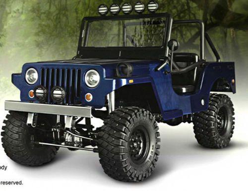 RC-Truck-Body-Shell-1-10-SawBack-SPORTS-JEEP-WRANGLER-WILLYS-MILITARY-JEEP-NEW