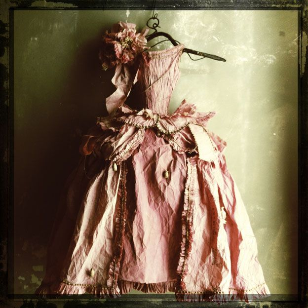 Paper Dress by Miss Clara