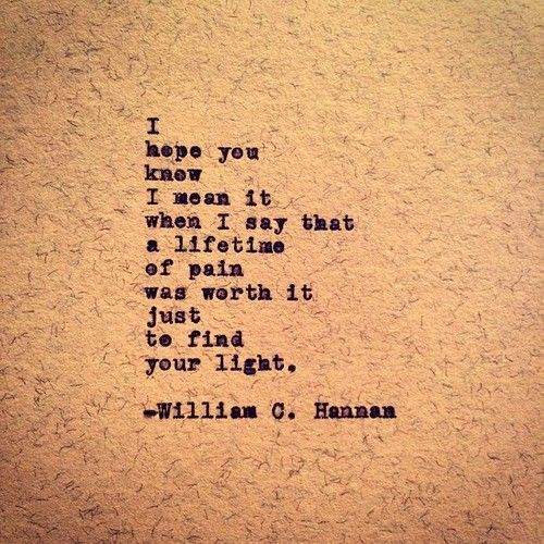 Your Light by William C. Hannan http://instagram.com/williamc.hannan…