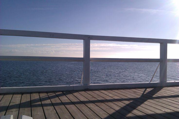 #morze, Gdynia, #Orłowo, #molo, plaża, słońce, #sea, #sun