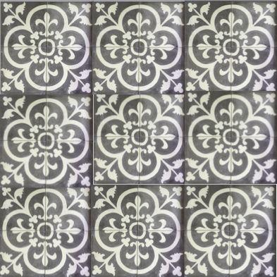 Cement Encaustic Marrakesh Design - 989