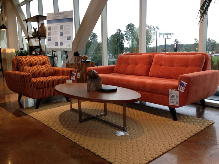 Brown Leather Couches Cozy Living Room With Wooden Oval Small Orange Sofas Pinterest