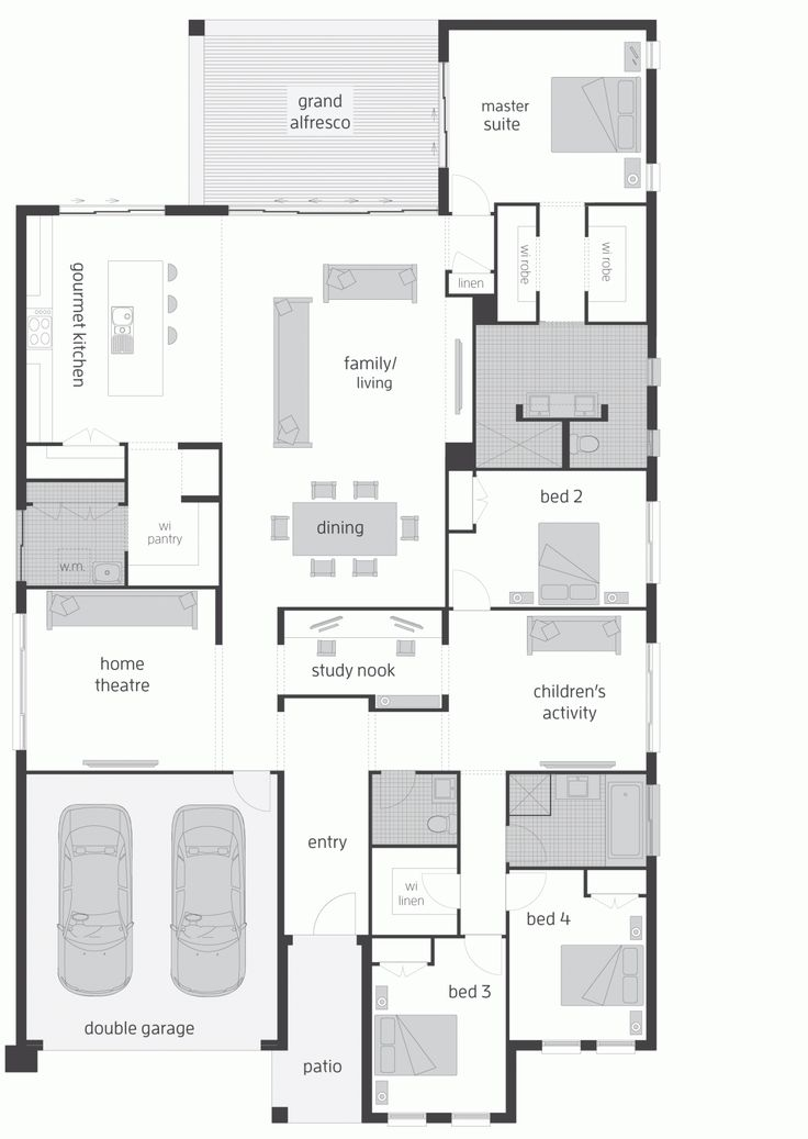 4727 best images about ev plan on pinterest one bedroom for Nice floor plans