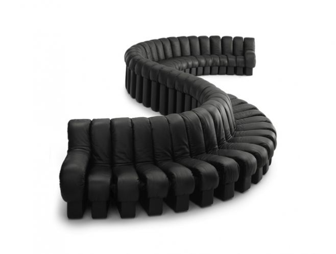 neat idea. modular zip together couch. Not sure about comfort....
