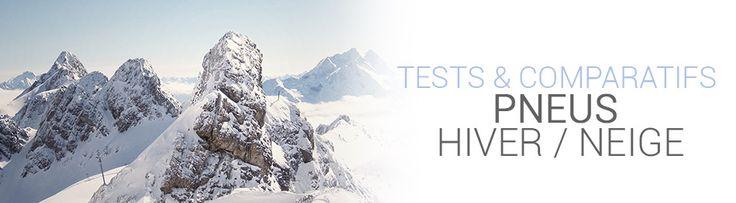 TESTS & COMPARATIFS PNEUS HIVER / NEIGE  #pneus  #hiver