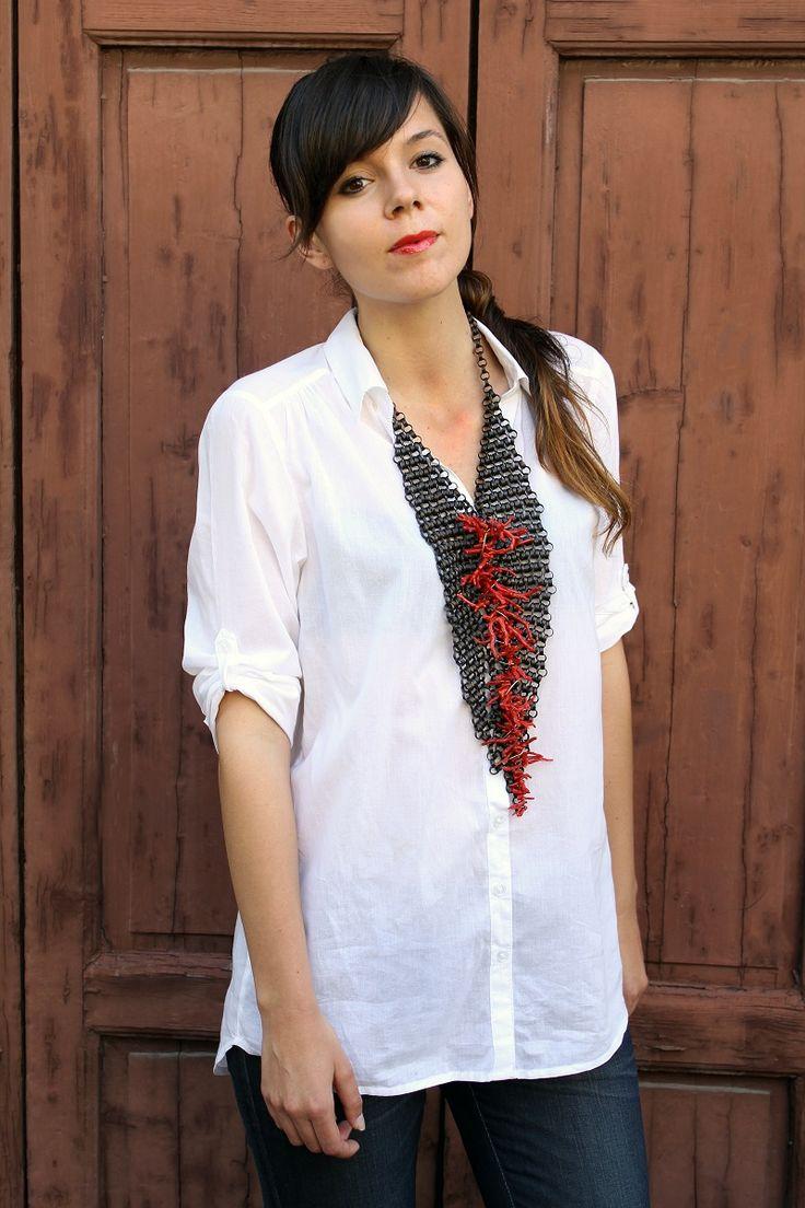 La collana di corallo - Irene's Closet - Fashion blogger outfit e streetstyle
