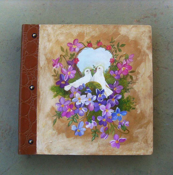 Photo Books, Wedding Albums, Photobook, Personalized Wedding Invitation Photo Album, Custom Wedding PHOTO ALBUM, Love Birds by allabouthandicraft on Etsy
