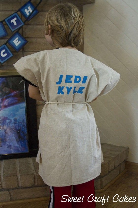 Star Wars party: DIY Jedi training robes