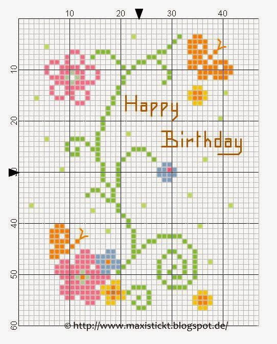 simple flowers for birthday (or other!) card