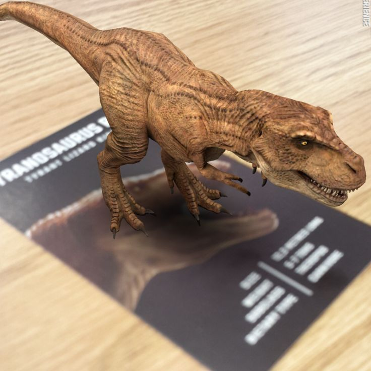 Dinosaur 4D+ Augmented Reality Flash Cards