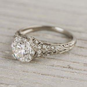 Erstwhile Jewelry Co Vintage Antique And Estate Engagement Rings