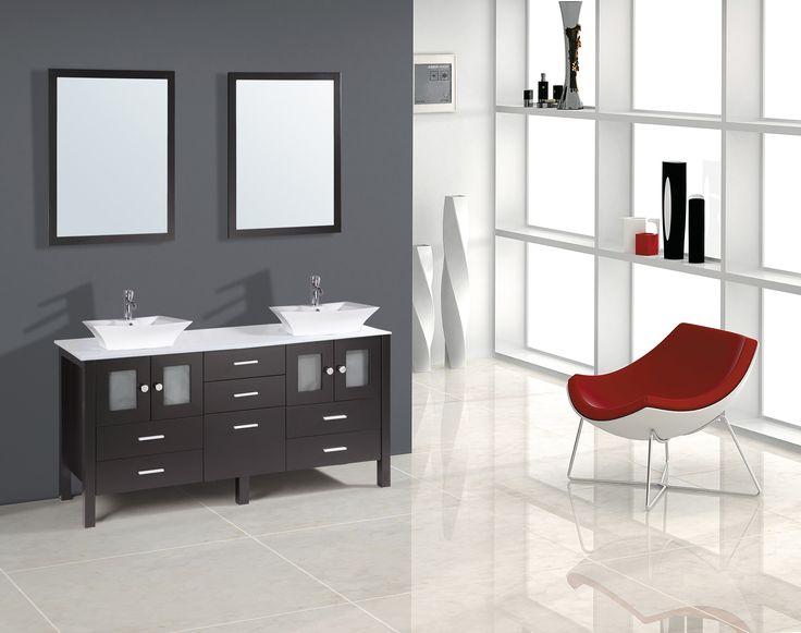 "Ibiza 60"" Bathroom Vanity: Home Decor Store Toronto and GTA - York Taps & Home Decor"