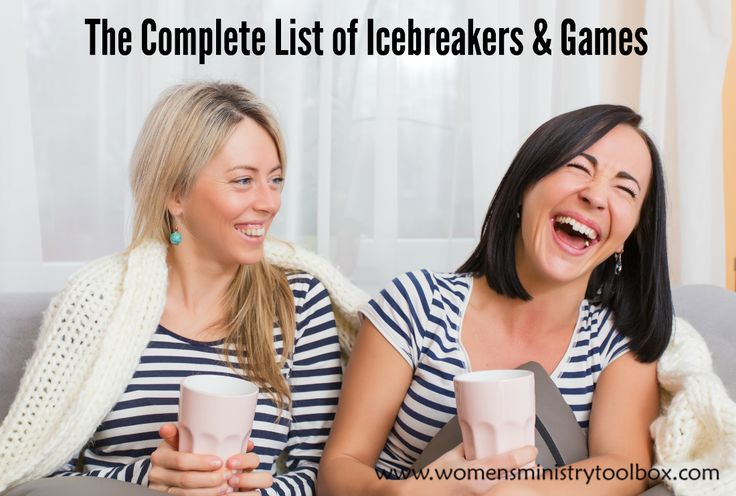 Unique, fun Icebreakers and games for Women's Ministry Events, Bible studies, small groups, and Youth Group. Everyday and Seasonal icebreakers.
