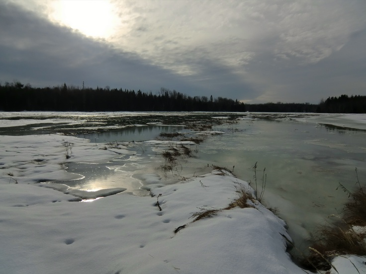 Peter's River, Bathurst, New Brunswick
