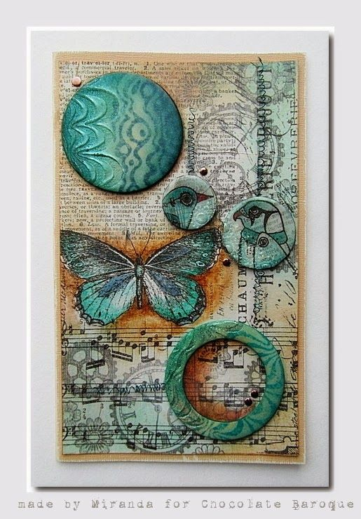 Chocolate Baroque Design Team: Steampunkbirds by Miranda....