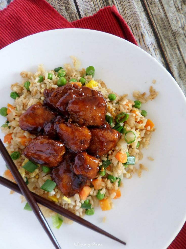 ... Grub On! | Pinterest | Fried Brown Rice, Baked Chicken and Brown Rice