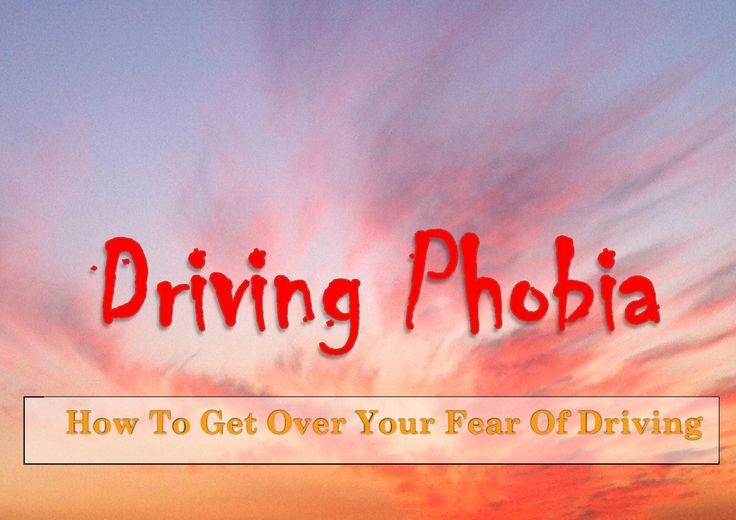 the fear and excitement in driving a car Does fear of driving complicate your life phobia doctor offers helpful tips for overcoming driving phobia, and a free chapter from his book.