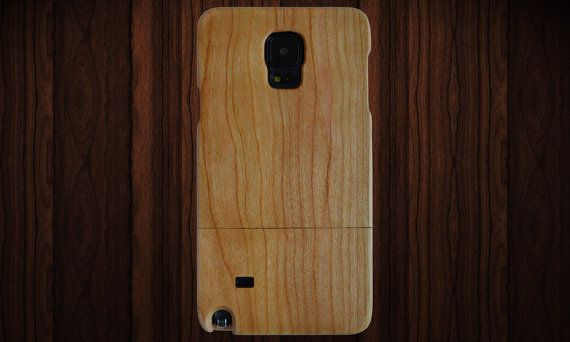 Wood Samsung Galaxy Note 5 case. Cherry wood. by NotAScratch