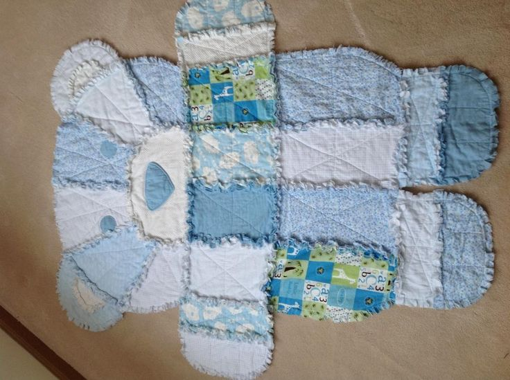 Baby Bear Quilt Project On Craftsy Com Baby Ideas Rag