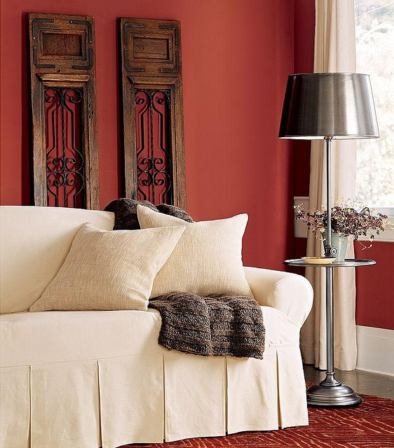 I think I love this color!  Benjamin Moore Rust.