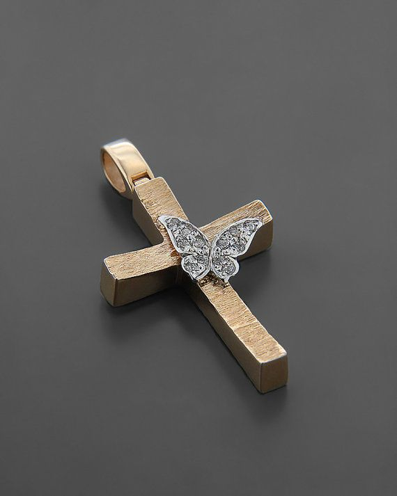 Hey, I found this really awesome Etsy listing at https://www.etsy.com/listing/246367608/baptist-cross-with-rose-gold-14k-white