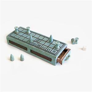 Senet Ceramic Game Ornament