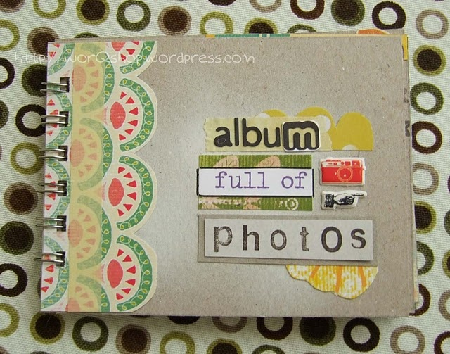 great for present scrapbooking mini album