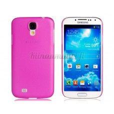TPU-muovisuoja Samsung Galaxy S4, pinkki