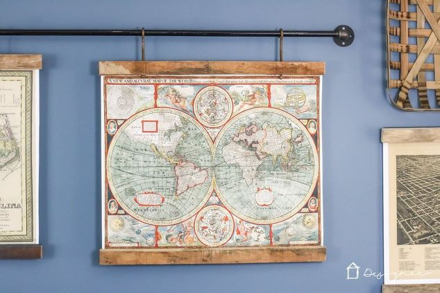 diy map art from old pallets, diy, home decor, pallet, repurposing upcycling, wall decor