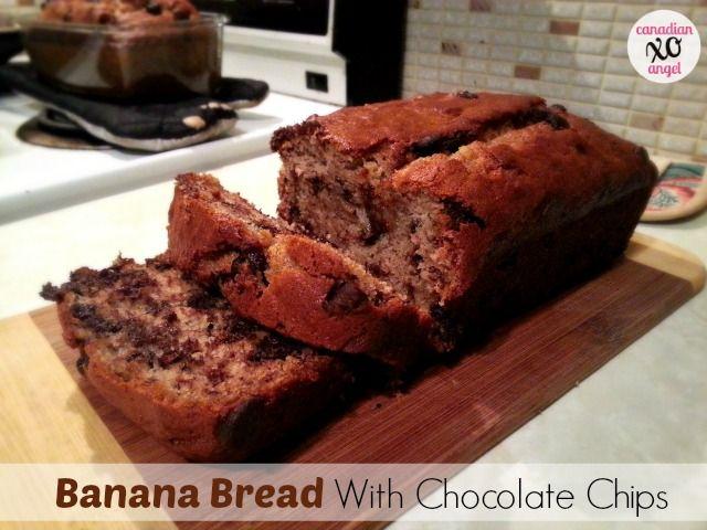 Chocolate Chip Banana Bread Easy