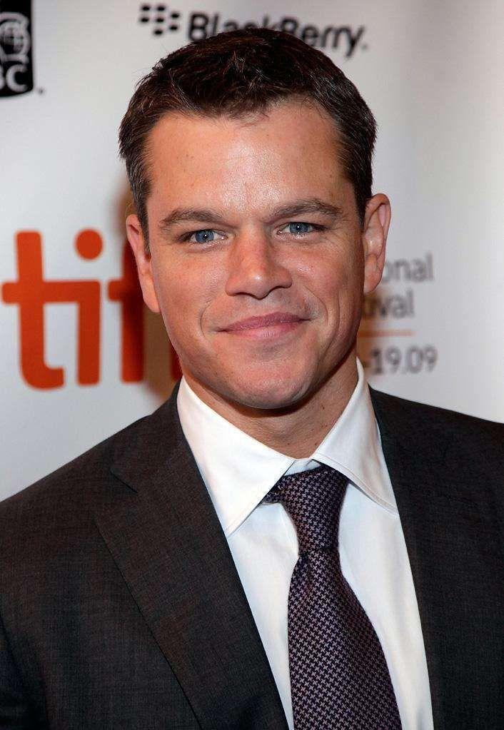 Matt Damon  has high IQ went to Harvard