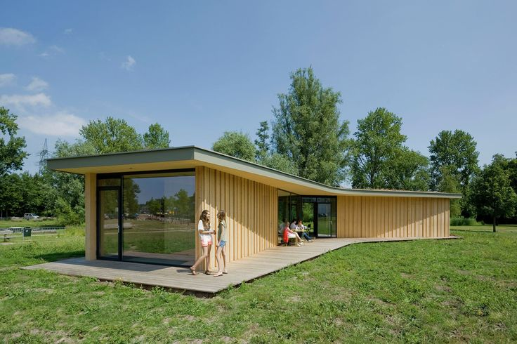 Completed in 2015 in Leiden, The Netherlands. Images by Marcel van der Burg. Tea house 'Tuin van Noord' is a small scale, low-budget project initiated by local residents. It functions as a community gathering place located in...